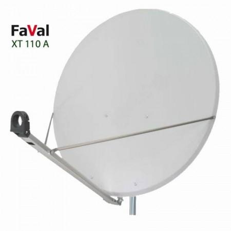 Faval 110 cm Aluminium lysgr�