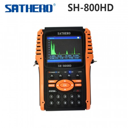 Sathero SH-800HD m/spectrum analyse