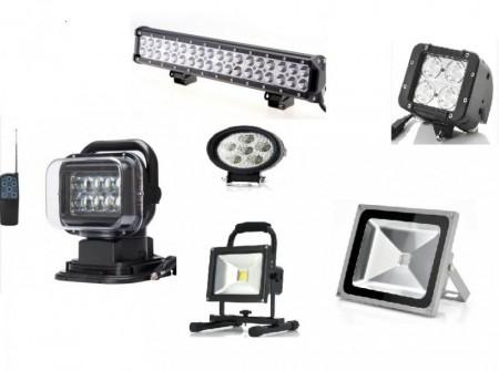 LED lys (flere typer)